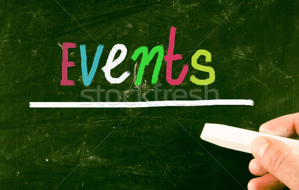 events concept Stock photo © nenovbrothers