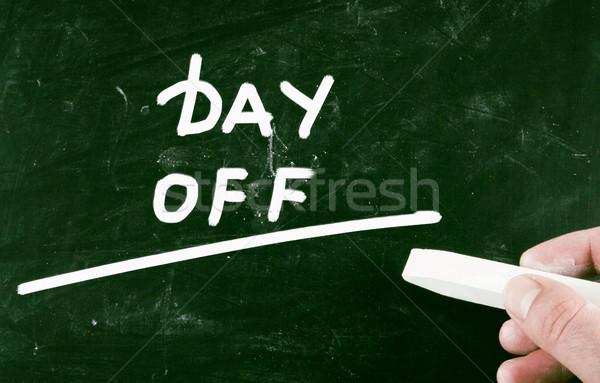 day off Stock photo © nenovbrothers