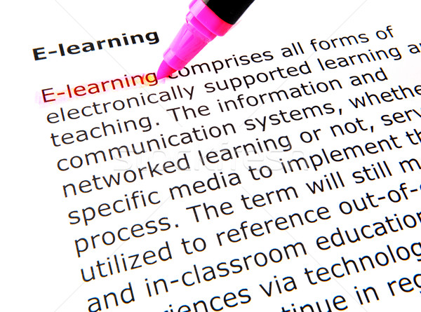 e-learning Stock photo © nenovbrothers