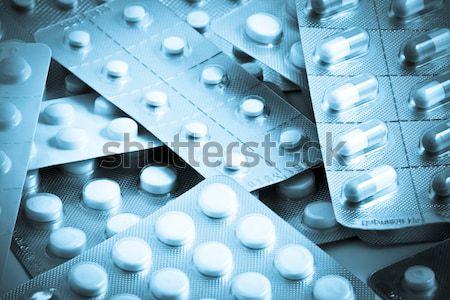 Packs of pills Stock photo © nenovbrothers