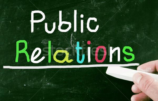 public relations Stock photo © nenovbrothers