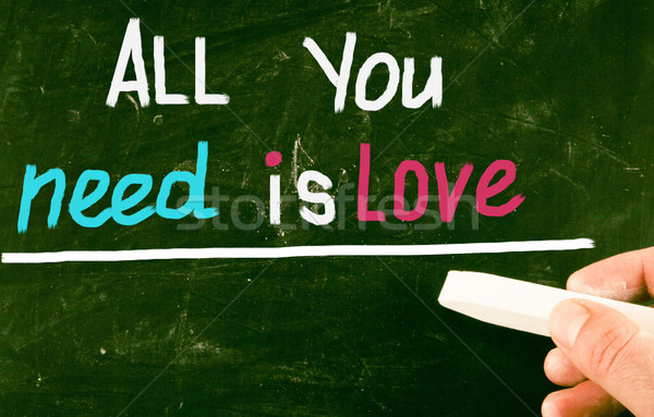 all you need is love Stock photo © nenovbrothers