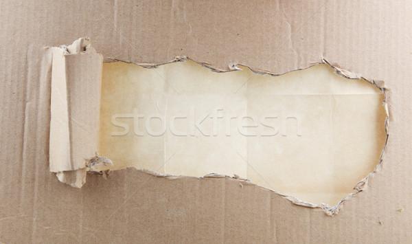 段ボール テクスチャ デザイン 背景 壁紙 カード ストックフォト © nenovbrothers