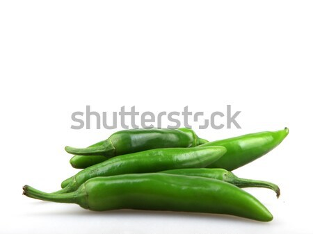 green pepper is isolated on a white background Stock photo © nenovbrothers
