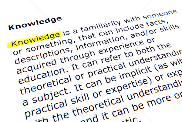 Knowledge Stock photo © nenovbrothers