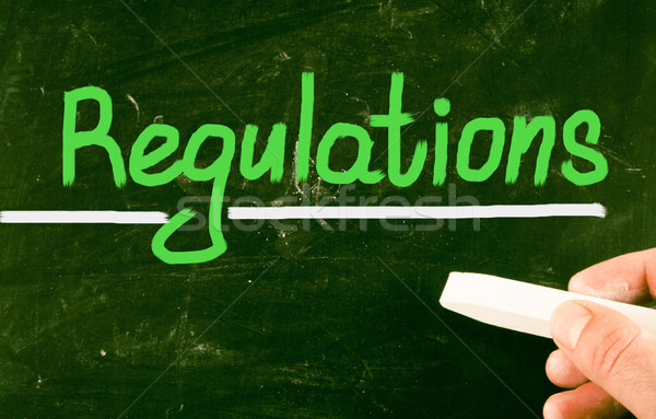 regulations concept Stock photo © nenovbrothers