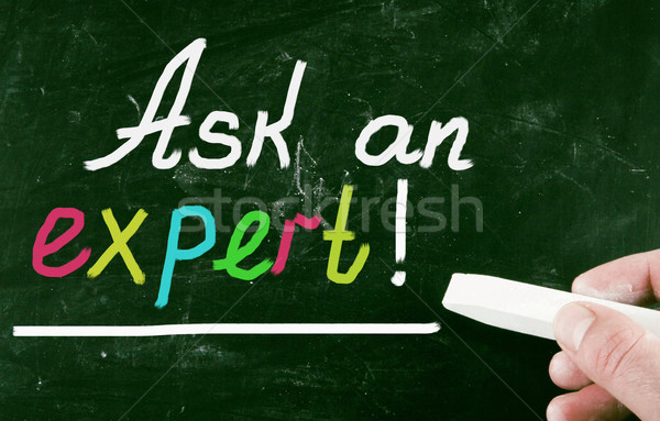 ask an expert Stock photo © nenovbrothers