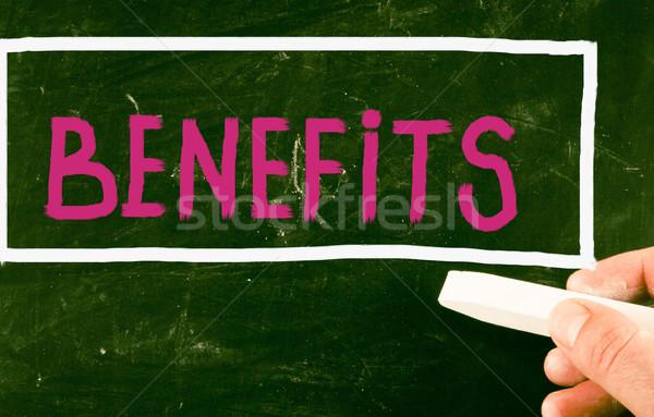benefits concept Stock photo © nenovbrothers