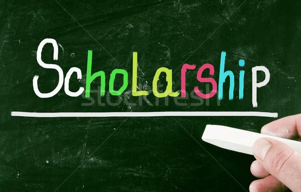 scholarship concept Stock photo © nenovbrothers