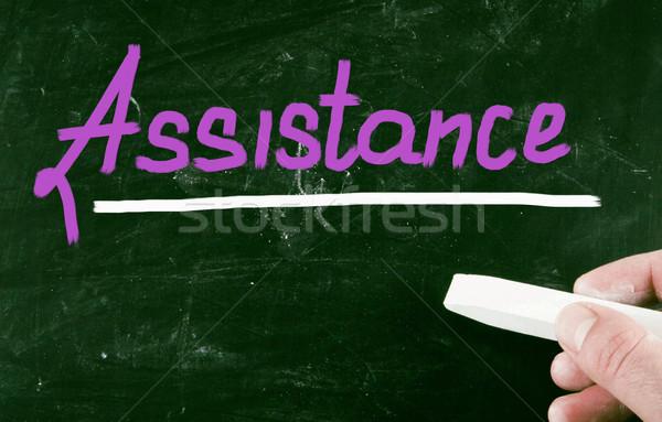 assistance concept Stock photo © nenovbrothers