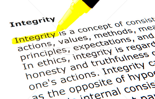 Integrity Stock photo © nenovbrothers