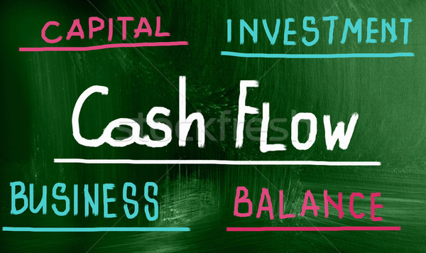 cash flow concept Stock photo © nenovbrothers