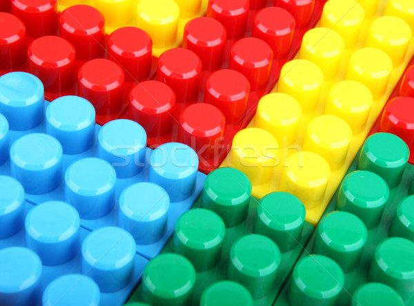 цвета детский блоки здании детей школы Сток-фото © nenovbrothers