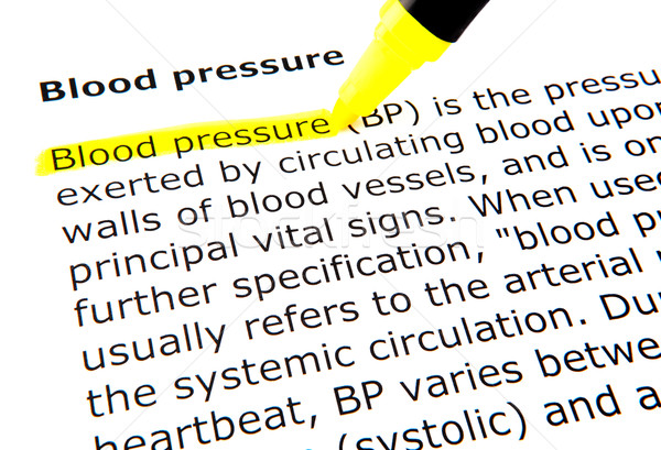 Blood pressure Stock photo © nenovbrothers