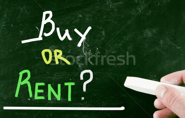 buy or rent? Stock photo © nenovbrothers