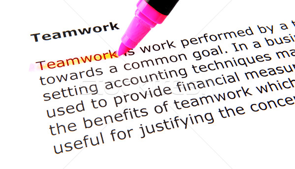 teamwork Stock photo © nenovbrothers