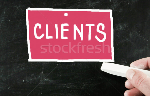 clients concept Stock photo © nenovbrothers