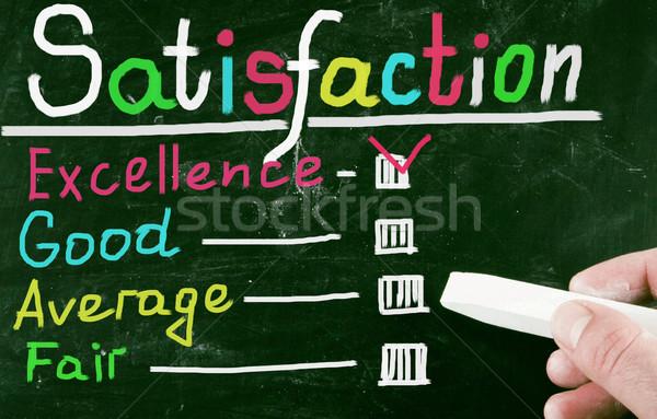 satisfaction concept Stock photo © nenovbrothers