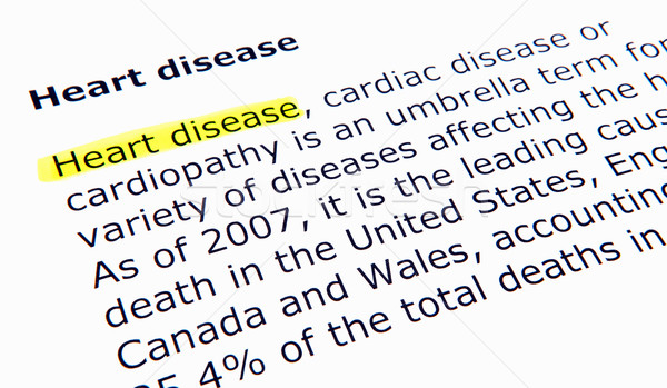 Heart disease Stock photo © nenovbrothers