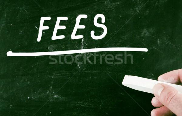 Opłaty ceny medycznych edukacji złota kolegium Zdjęcia stock © nenovbrothers