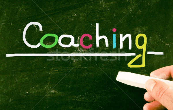 coaching concept Stock photo © nenovbrothers