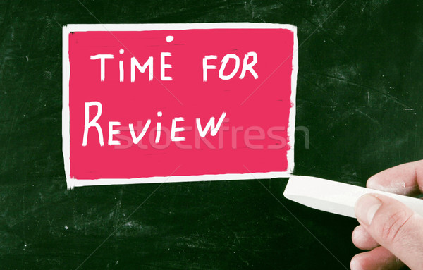 time for review Stock photo © nenovbrothers