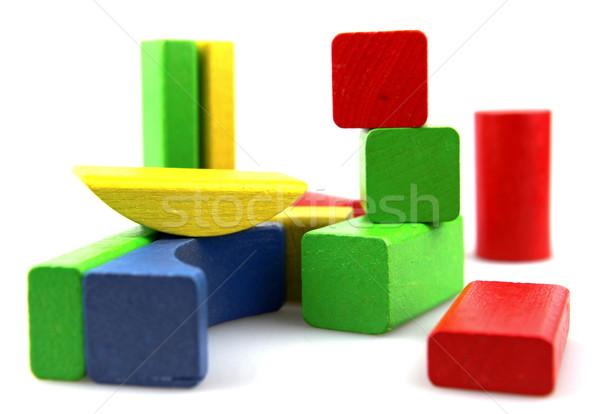 Zdjęcia stock: Budynków · wielokondygnacyjnych · budowy · dziecko · projektu · tle