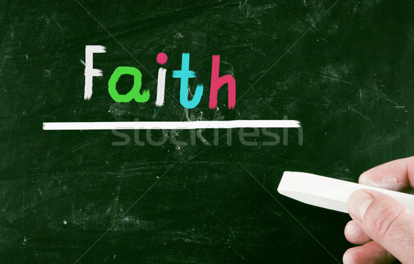 faith concept Stock photo © nenovbrothers