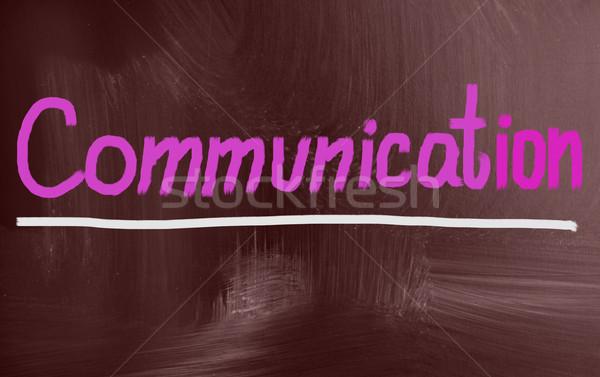 communication concept Stock photo © nenovbrothers