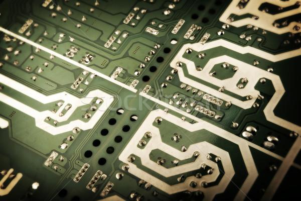 Nyáklap absztrakt háttér tudomány digitális elektromosság Stock fotó © nenovbrothers