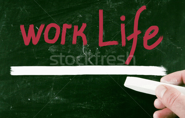 work life concept Stock photo © nenovbrothers