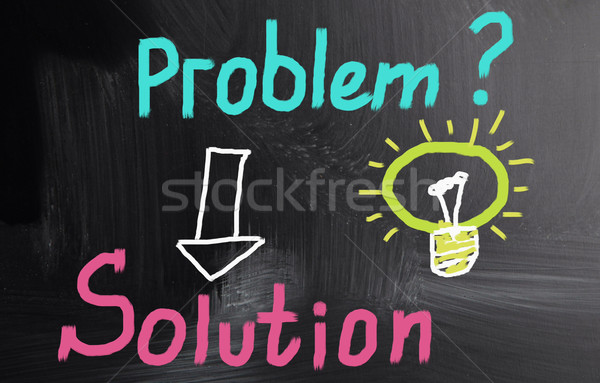 solution concept Stock photo © nenovbrothers