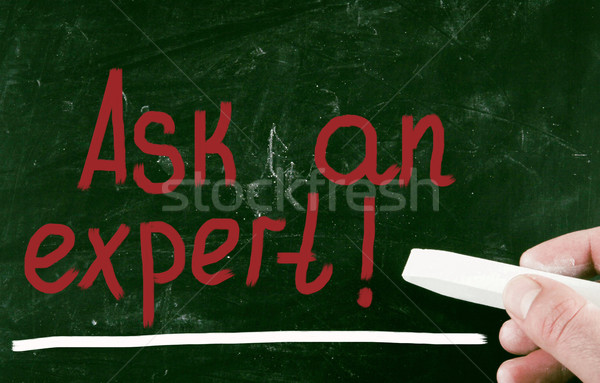 ask an expert! Stock photo © nenovbrothers