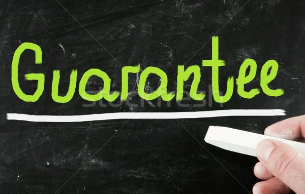 Gwarantować zakupy usługi tablicy zawodowych wsparcia Zdjęcia stock © nenovbrothers