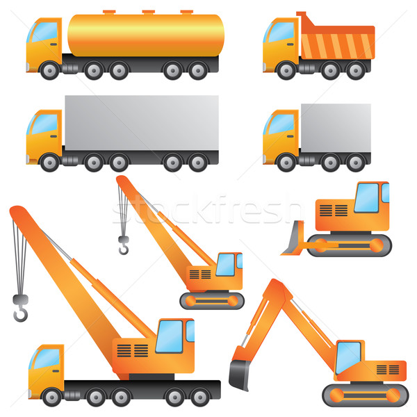 Construction machinery. Stock photo © Neokryuger