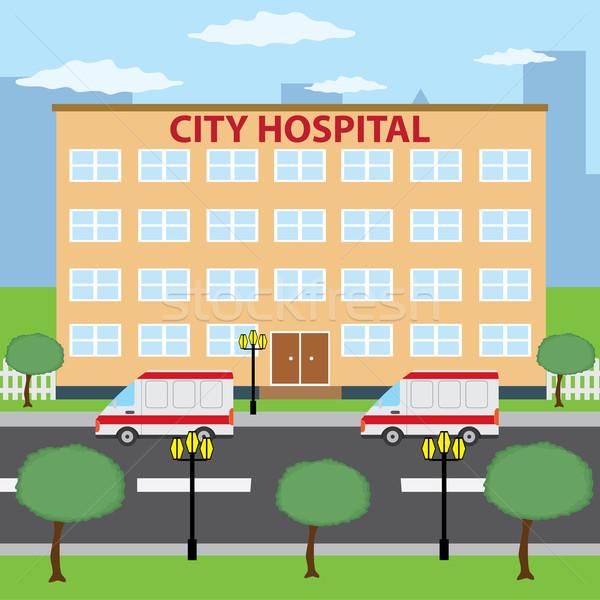 City hospital. Stock photo © Neokryuger