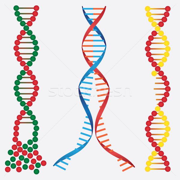Stock photo: Damaged DNA.