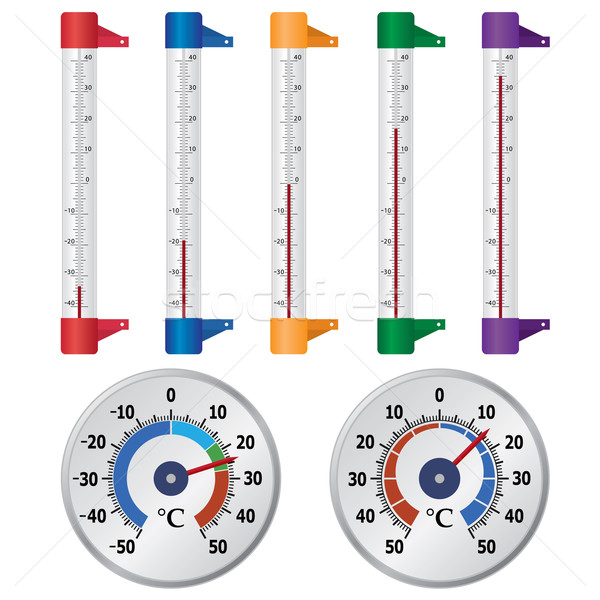 Thermometers for windows. Stock photo © Neokryuger