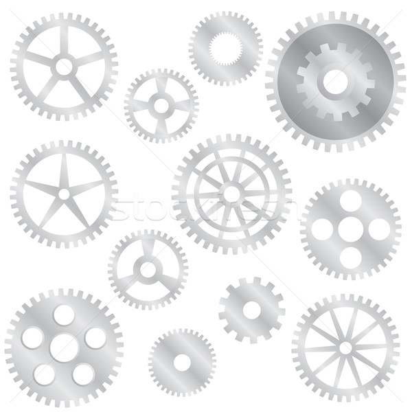 Stock photo: Gear wheels.