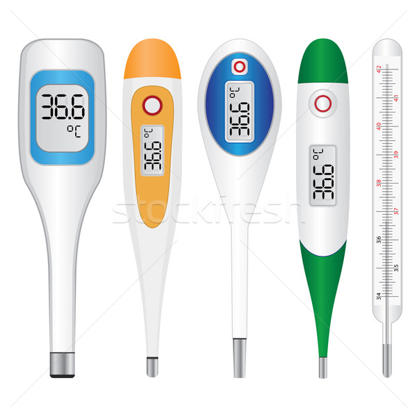 Electronic thermometers Stock photo © Neokryuger