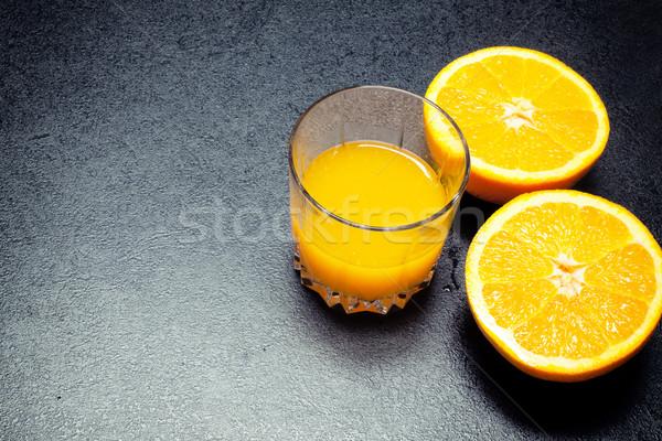 Fresh orange juice. Stock photo © NeonShot