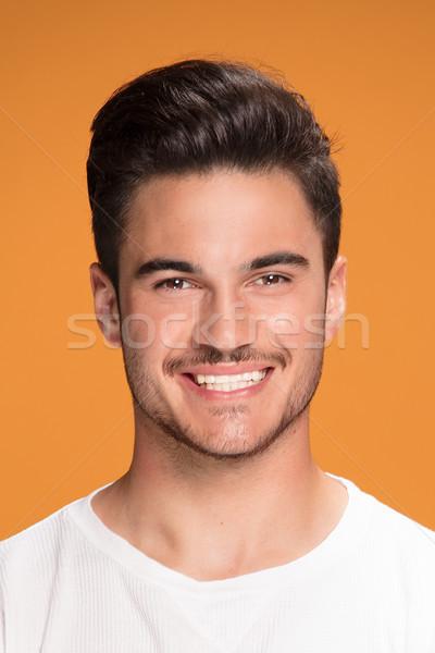 Portrait of handsome smiling man. Stock photo © NeonShot