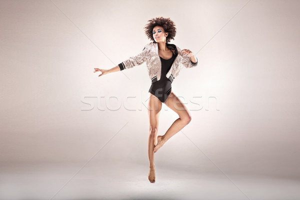 Modern style dancer in studio. Stock photo © NeonShot