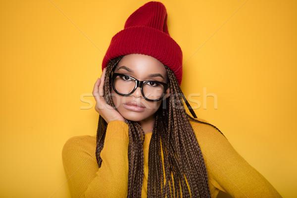 Portrait of fashionable young girl. Stock photo © NeonShot