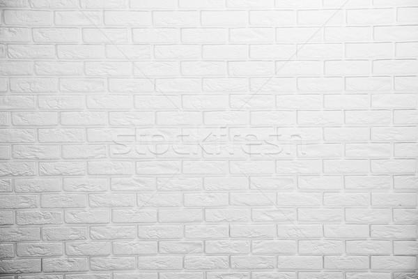 Witte muur bouw home verf ruimte Stockfoto © NeonShot