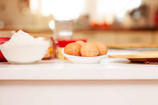 Cake baking.Christmas time. Stock photo © NeonShot