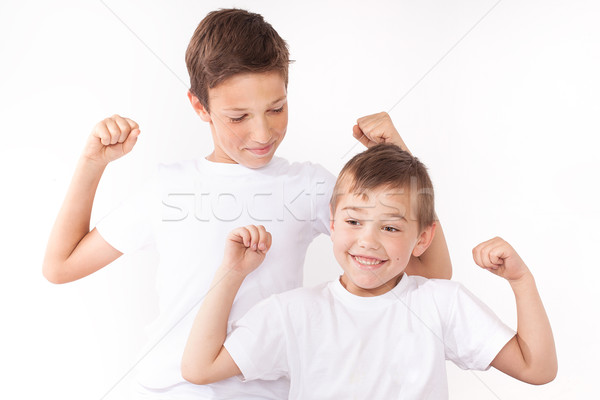 Two little brothers . Stock photo © NeonShot
