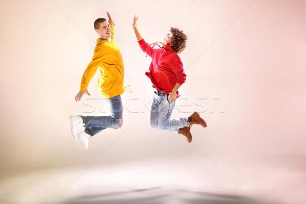 современных танцоры студию афро танцы Сток-фото © NeonShot