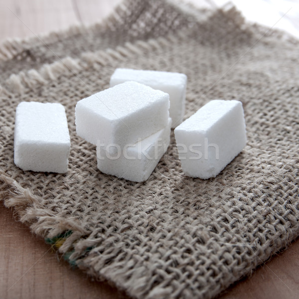 sugar cubes on table Stock photo © nessokv