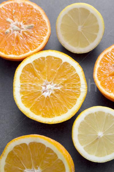 citrus fruit slices Stock photo © nessokv